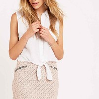 Cooperative by Urban Outfitters Patterned Pelmet Skirt - Urban Outfitters