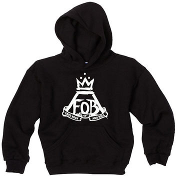 fall out boy hoodie fall out boy black and gray