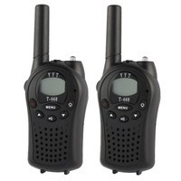 400-470MHz 1.0 inch LCD 8 / 20 / 22CHS Walkie Talkie Set, Pack of 2 (T-668 )
