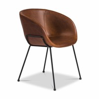 Chavez Side Chair DARK BROWN - SET OF 2