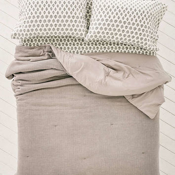Crinkle Gauze Comforter Snooze Set - Urban Outfitters