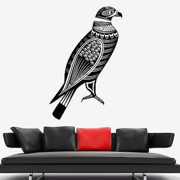 Wall Decal Birds Eagle Predator Tribal Ornament Mural Vinyl Decal (z3171)