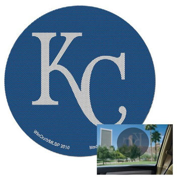 Kansas City Royals MLB Perforated Decal Auto Window Film Glass Logo Baseball Sticker