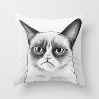 Grumpy Cat Pillow, Tardar Sauce, Tard, Geek Meme