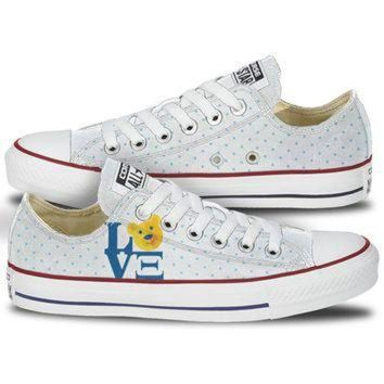 DCKL9 Alpha Xi Delta Love Low Top Custom Converse