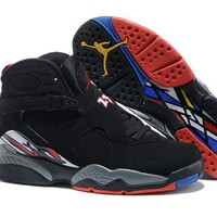 Air Jordan 8 Retro AJ8 All Star Black/Red Basketball Shoe