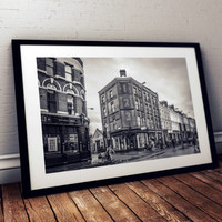 Brick Lane London photography print paper architecture poster city urban hipster cityscape market England photo picture street print photo