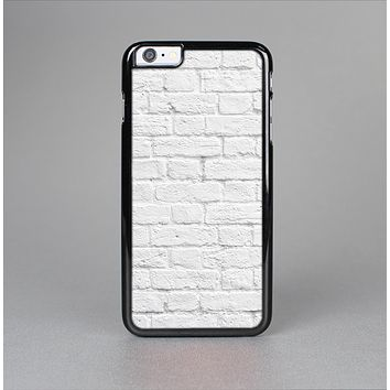 The White Brick Wall Skin-Sert for the Apple iPhone 6 Plus Skin-Sert Case