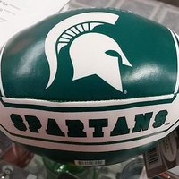 "NCAA Michigan State Spartans 6"" Soft Vinyl Football"