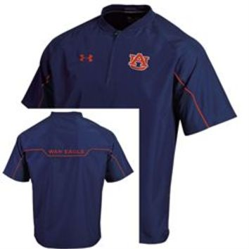 Under Armour Auburn University Tigers Quarter Zip Contender Cage Jacket - GFSI/Under Armour