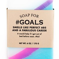 #Goals Unicorn Farts Scented Soap - Smells Like Perfect Abs & A Fabulous Career