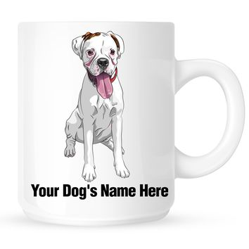 Personalized mug for your boxer