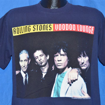 90s Rolling Stones Voodoo Lounge Tour 94/95 Budweiser t-shirt Large