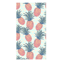 Low Poly Pineapples Towel