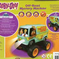 Scooby-doo ** Off-road Mystery Machine ** Lights / Sounds / Motion ** 5 1/2' Tall