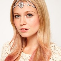 ASOS Jewelled Flower Headband at asos.com