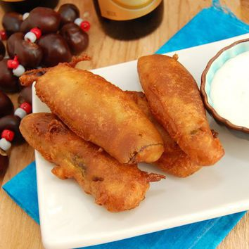 Beer Battered Fried Pickles | Sweet Pea's Kitchen