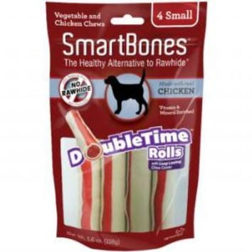 Smartbones DoubleTime Chews Chicken Small
