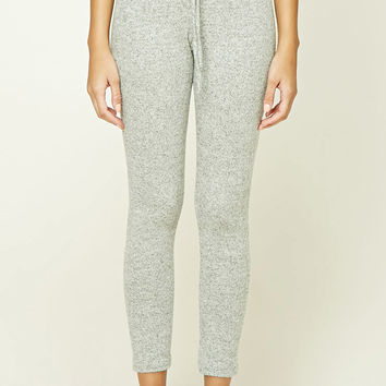 Brushed Marled Knit Sweatpants