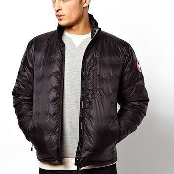 Canada Goose Lodge Jacket with Down Fill