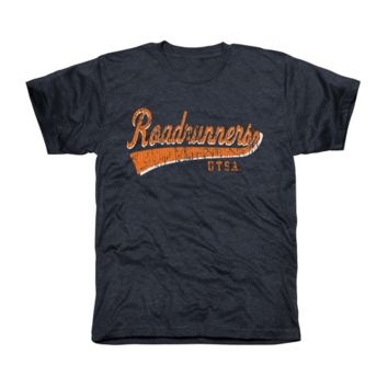 UTSA Roadrunners All-American Primary Tri-Blend T-Shirt - Navy Blue