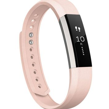 Fitbit Alta Accessory Bands Premium Leather Band | Dillards