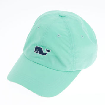 Vineyard Vines Charter Nylon Baseball Hat - Blue Mist