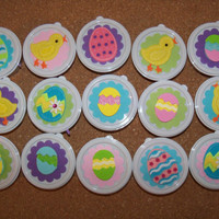 Easter Chick and eggs favors in a cup by SuperCraftyLady