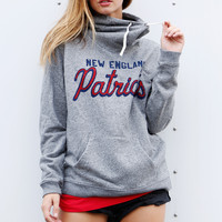 New England Patriots Cowl Sweatshirt