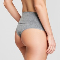 Women's Ribbed Seamless High Waist Thong - Gilligan & O'Malley™