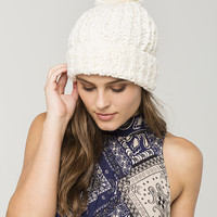 FREE PEOPLE Snuggle Bear Pom Beanie | Beanies