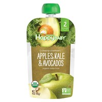 Happy Baby Clearly Crafted S2 Apple Kale Avocado 4oz