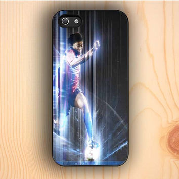 Dream colorful Ronaldinho Playing For FC Barcelona iPhone 5 Case