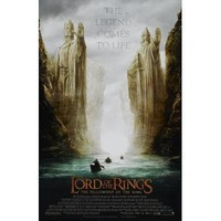 Lord of the Rings 1: The Fellowship of the Ring Poster Movie P 11x17 Elijah Wood Ian McKellen MasterPoster Print, 11x17
