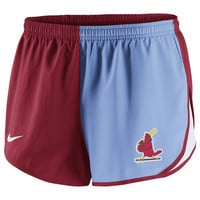 Shorts - Cardinals Nike Womens Red Modern Tempo Shorts