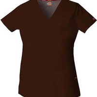 Buy Dickies EDS Women's Jr. Fit Mock Wrap Nursing Scrub Top for $14.95
