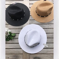 WESTERN STRAW HAT- MORE COLORS