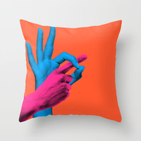 What I Need Throw Pillow by Tyler Spangler