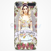Marina And The Diamond - I Hate Everything iPod Touch 6 Case | casefantasy
