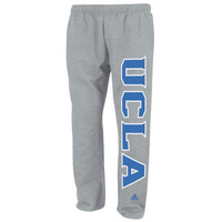 UCLA Bruins adidas Campus Fleece Sweatpants – Gray