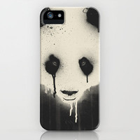 PANDA STARE iPhone Case by Dzeri29 | Society6
