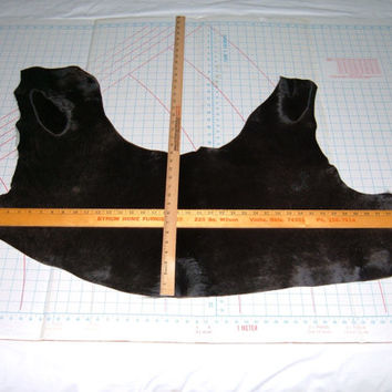 Remnant of  Black Hair-on-Hide Leather-72