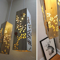 Beetle Kill Lamps by I've Got Wood | materialicious