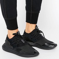 adidas Originals Black Tubular Entrap Sneakers In Black at asos.com