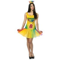 Crayola Crayon Box Adult Dress