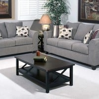 Flyer Metal Sofa and Loveseat