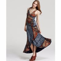 NWOT MARC BY MARC JACOBS PAINTED PAGE PAISLEY MAXI DRESS M