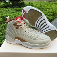 Nike Air Jordan 12 Retro CNY GG [881428-142]  Casual Shoes Chinese New Year Basketball Sneaker