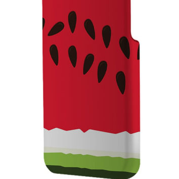 Best 3D Full Wrap Phone Case - Hard (PC) Cover with WaterMelon Design