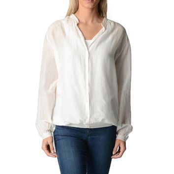 Fred Perry Womens Blouse White